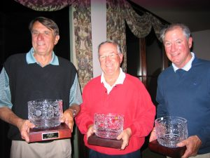 Wally Durham, Dennis Towle and Pete Kelly