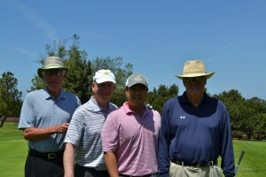 Gold Sponsor, Fineston and Richter Team with Bill Finestone, Chuck  White, Jimmy Leee and Steve Miller took home the first place gross team award.