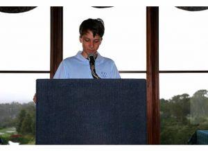 Ryan at podium