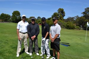 Representing Platinum Sponsor, Toyota Motor Sales, U.S.A., Inc. were players Sean Cerda, Choi Tse, Jerry Koyanagi & Jonathan Hahn