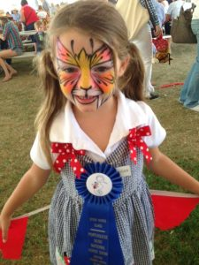 Ava face painting