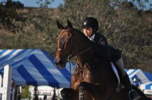 Gemma Geist on Calypso Reserve Champion PCHA Medal Finals 14 and under.