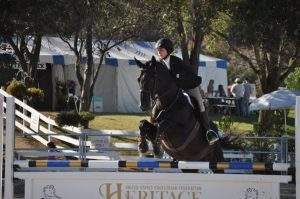 Ransome Rombauer on Gaston - PCHA Medal Finals 14 and under champion.