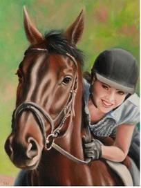 2019 Portuguese Horse Show Poster